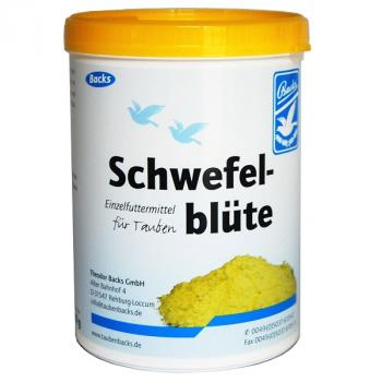 Backs Schwefelblüte 600g