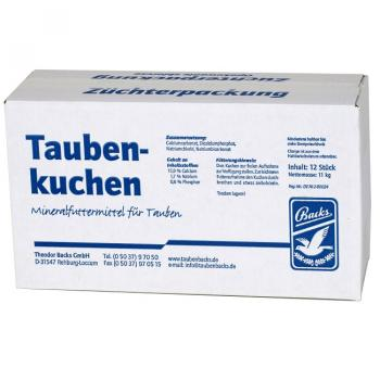 Backs Taubenkuchen 12er