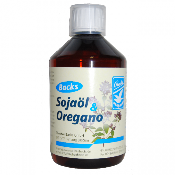 Backs Sojaöl & Oregano 500ml